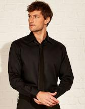 Men`s Tailored Fit Bar Shirt Long Sleeve