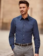 Men`s Long Sleeve Fitted Tencel® Shirt