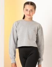 Kids Cropped Slounge Sweat