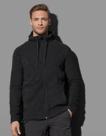 Active Hooded Fleece Jacket