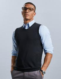 V-Neck Sleeveless Knitted Pullover