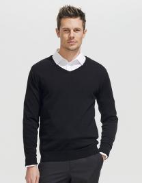 Men`s V Neck Sweater Galaxy