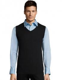 Unisex Sleeveless Sweater Gentlemen