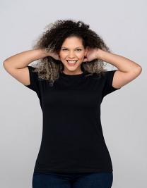 Curves T-Shirt Lady
