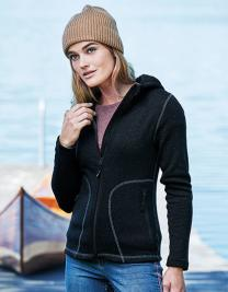 Ladies` Outdoor Hooded Fleece Jacket