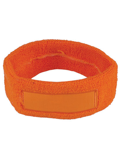 Head Sweatband with Label