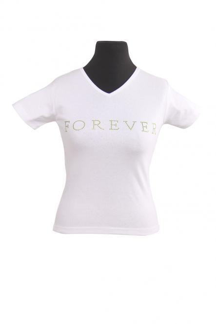 Forever Ladies V-Neck-T-Shirt Moon